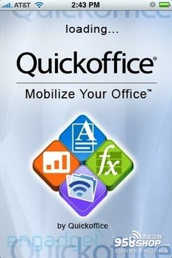 QuickOffice在手 随地皆可办公